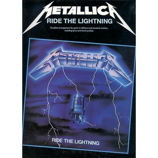 Music Sales Metallica: Ride The Lightning Product Image