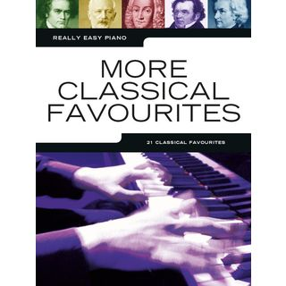 Music Sales Really Easy Piano: More Classical Favourites Product Image