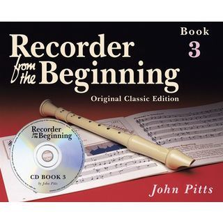Music Sales Recorder From The Beginning 3 Pupil's Book (CD Edition) Produktbild