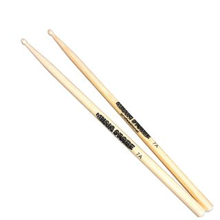 MUSIC STORE 7A Hickory Sticks, Wood Tip Produktbillede