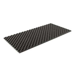 MUSIC STORE Absorbing Acoustic Foam 50x100cm, 2cm, Anthracite Product Image