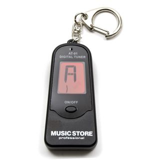 MUSIC STORE AT-01 Key Ring Digital Tuner  Product Image
