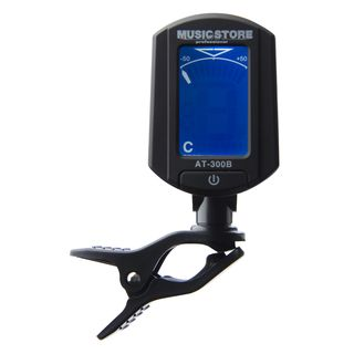 MUSIC STORE AT-300B Clip-On Tuner/Stimmger Display blau - grün hochaufl. Produktbild