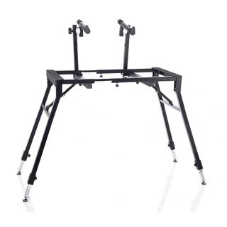 MUSIC STORE B-99 TNA Keyboard Stand 2-Tier (Black) Product Image