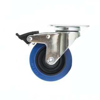 MUSIC STORE Blue Wheel 100mm lockable Zdjęcie produktu