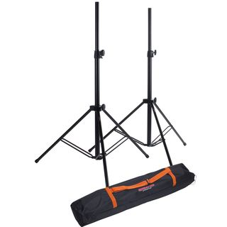 MUSIC STORE Box-3 PRO Set PA Speaker Stand  Set With Carry Bag Produktbillede
