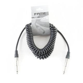 MUSIC STORE Coiled Instrument Cable 6m Jack Product Image