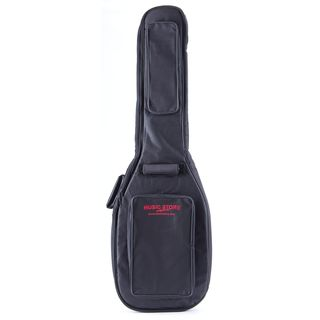 "MUSIC STORE ""Deluxe"" Gigbag E-Bass Black/Red Logo Product Image"