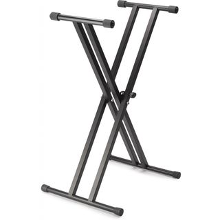 MUSIC STORE KB-4 dubbel-X-keyboardstand voor Stage Pianos Productafbeelding