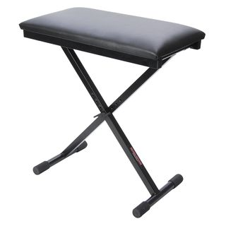 "MUSIC STORE Music Store BN1 ""X"" bench Adjustable height: 44-58 cm Product Image"