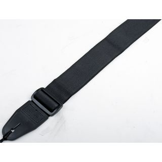 MUSIC STORE  N 1021A Guitar Strap Black Nylon Product Image