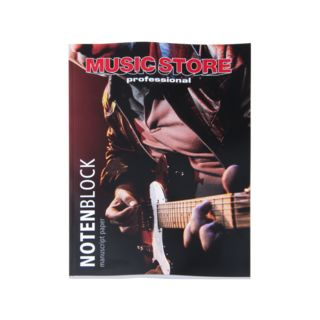 MUSIC STORE Notenblock Produktbild