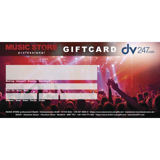 MUSIC STORE Online Gift Certificate individual Product Image