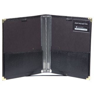 Musicfolder.com Black Folder Die ultimative Chormappe Product Image