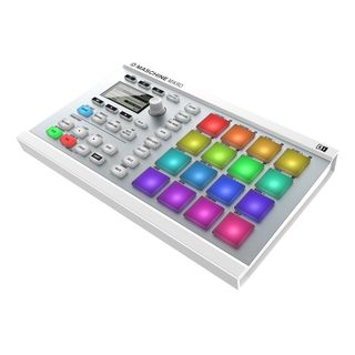 Native Instruments MASCHINE Mikro MK2 White  Produktbild