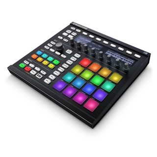 Native Instruments Maschine MKII Software Instrument Controller, Black Product Image