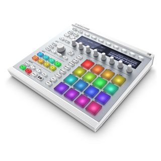Native Instruments Maschine MKII Software Instrument Controller, White Produktbillede