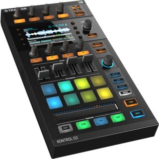 Native Instruments TRAKTOR Kontrol D2 The Next-Generation Deck Produktbillede