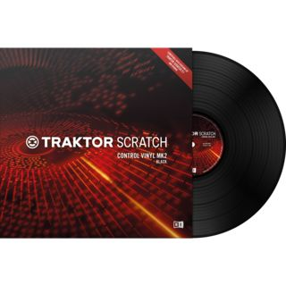 Native Instruments Traktor Scratch Timecode Vinyl MK2 Black Product Image