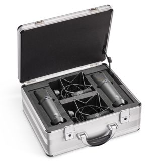 Neumann U 87Ai mt Stereo-Set Black 2xMicrophone/2xEA87 Shock Mount/Case Product Image