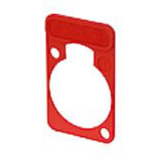 Neutrik DSS-2 Lettering Plate red Product Image