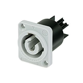Neutrik NAC3MPB-1 Mounting Socket Grey Product Image
