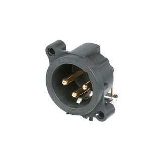 Neutrik NC3MAH 3pol. receptacle horizontal mount Product Image