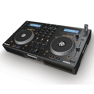Numark Mixdeck Express Black DJ Controller, CD/USB-Playback Productafbeelding