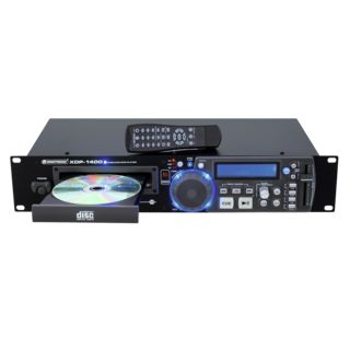Omnitronic XDP-1400 CD/USB/SD player w.IR remote Produktbillede