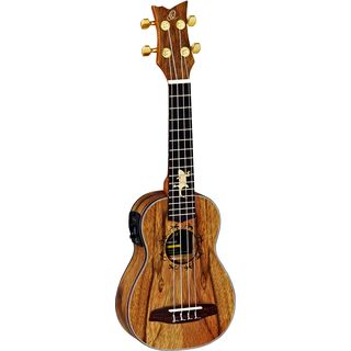 Ortega LIZARD-SO-GB Soprano Ukulele Product Image
