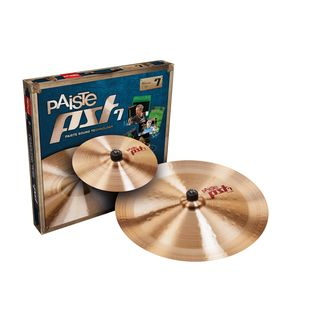Paiste PST7 CymbalSet Effects, 10SP,18CH Productafbeelding