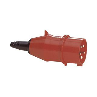 PCE Plug CEE 16A 5pin Turbo Twist, red Product Image