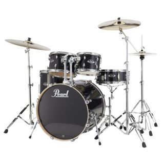 Pearl Export Lacquer EXL725S/C, zwart Smoke #248 Productafbeelding