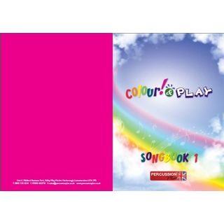 Percussion Plus Colour & Play Song Book, A4 Product Image