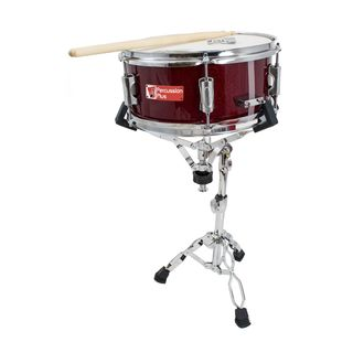 "Percussion Plus PP260 Junior Snare 12""x5,5"", incl. Stand & Sticks Product Image"
