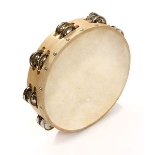 Percussion Plus PP874 Budget Tambourine, 25cm, double row+ Product Image
