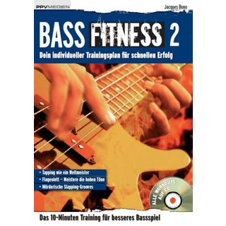 PPV Medien Bass Fitness 2 Bono, Buch und CD Product Image