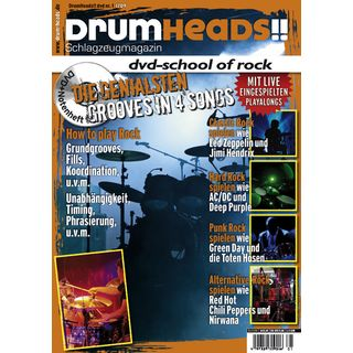 PPV Medien DrumHeads!! School of Rock DVD, Sven Petri Product Image