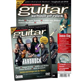 PPV Medien guitar school of rock: Hard Rock Songbook mit DVD Изображение товара