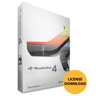 Presonus Studio One 4 Professional License Code Product Image
