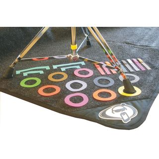 Protection Racket Marker For Drum Rug Multi Colour Product Image