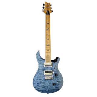 PRS SE Custom 24 Roasted Maple Limited Whale Blue DEMO Product Image