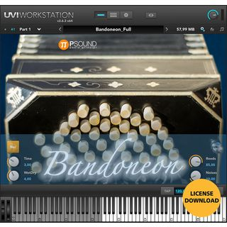 PSOUND PAOLO PRINCIPI Bandoneon License Code Product Image
