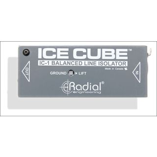 Radial IC-1  Ice Cube Balanced Line Isolator Product Image