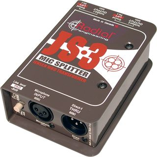 Radial JS-3 Microphone Splitter  Product Image