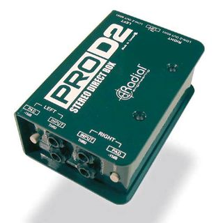Radial Pro-D2 Full Range Stereo Passive Direct Box Product Image