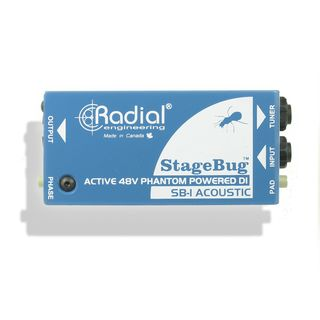 Radial StageBug SB-1 Acoustic Active DI Box Product Image