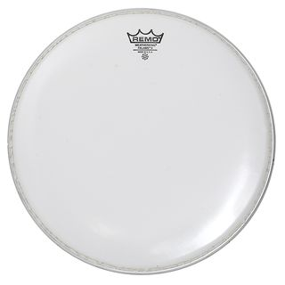 "Remo Falam K, 14"", Smooth White, Marching Product Image"