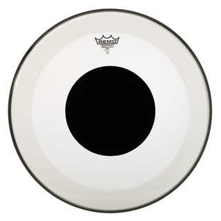 "Remo Powerstroke 3 Black Dot 20"", Clear, BassDrum Batter Product Image"