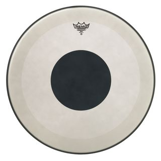 "Remo Powerstroke 3 Black Dot 20"", Coated, BassDrum Batter Product Image"